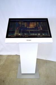 Il tavolo interattivo multimediale.